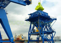 Fixed Port Tyre Hopper / Coal Bulk Hopper Environment Friendly